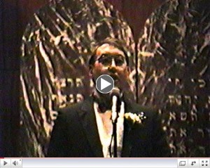 Click here to see a clip from Cantor Redfern's Tefilas Tal
